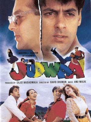 Judwaa movie - Salman khan and Karishma kapoor produced by sajid nadiadwala