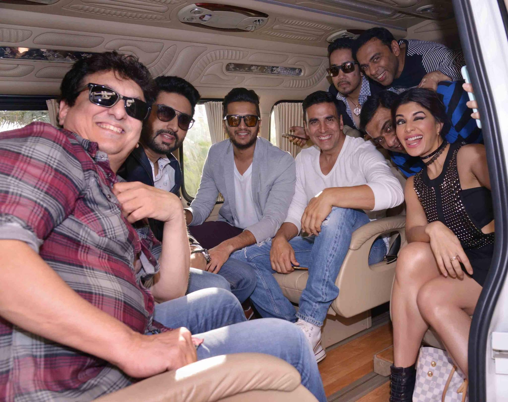Akshay Kumar and Abhishek Bachchan stars of Housefull 3 produced by Sajid Nadiadwala