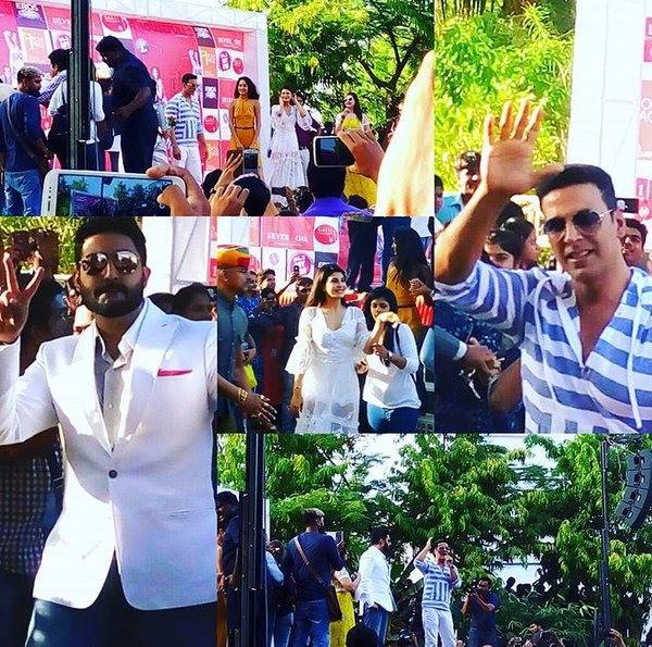 Housefull 3 Promotions at Ahemdabad - Akshay Kumar