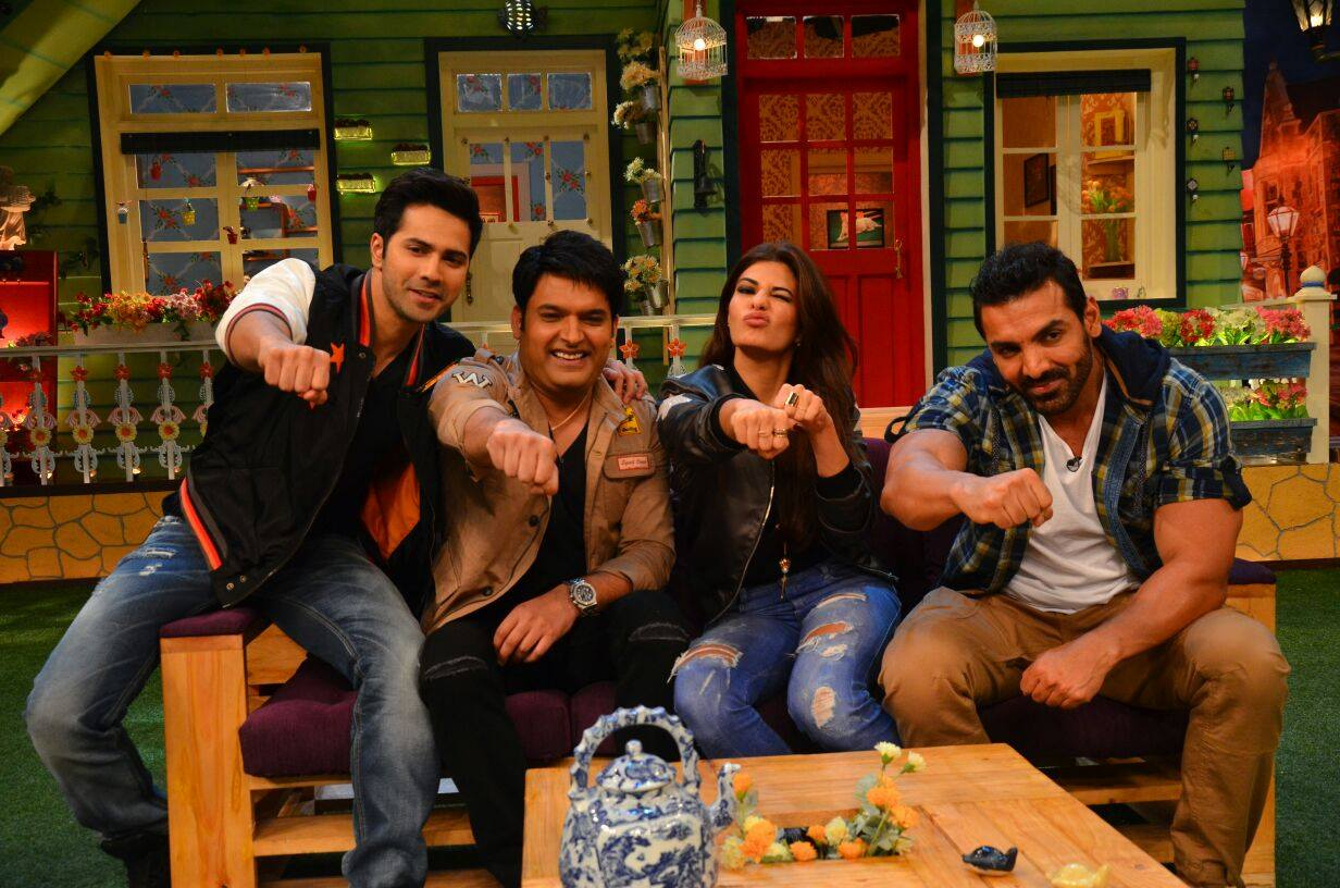 Dishoom Promotions on The Kapil Sharma Show