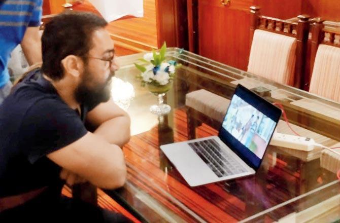 Nitesh Tiwari Arranges A Special Preview Of Chhichhore Trailer For Aamir Khan 1