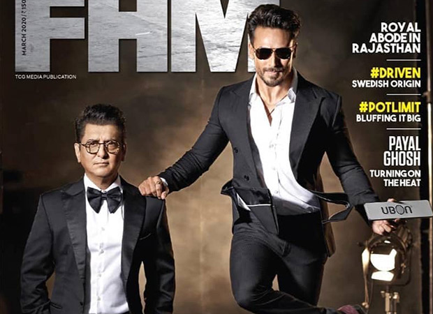 Tiger Shroff and Sajid Nadiadwala look suave and dapper as they pose for FHM magazine