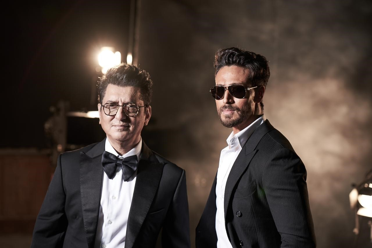 Sajid Nadiadwala and Tiger Shroff : The Mentor-Protege duo pose for FHM magazine