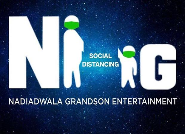 Nadiadwala Grandson Entertainment alter their iconic logo promote social distancing